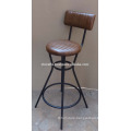 Industrial Leather Bar Chair Latest Design