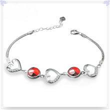Кристалл Браслет 925 Щепка Стерлингового серебра Ювелирные изделия (SL0090)