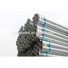 # China fabricante caliente dip galvanizado especificación de tubería de acero
