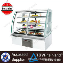 Kitchen Equipment European Style refrigerated bakery display case