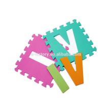 EVA foam alphabet puzzle mat educational toys for kids