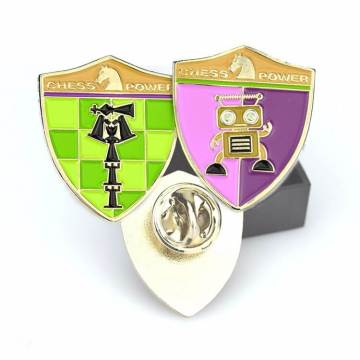 Partihandel Custom Gold Metal Lapel Pin Badge