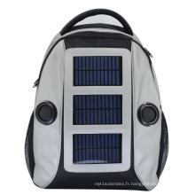 8848 Custom Sports Traveling Camping Randonnée Solar Back Pack Bag
