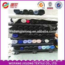 Stock 100% cotton poplin fabric 44*45 polyester cotton mixed plain dyed poplin fabric FR fabric stock
