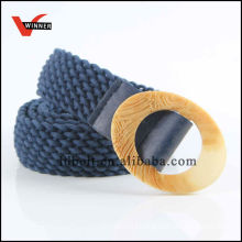 Fashion rope women braided belts for dress