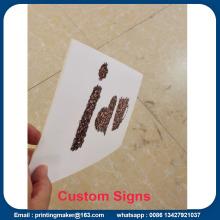 Las hojas al aire libre del tablero del panel de la espuma del PVC firman la impresión