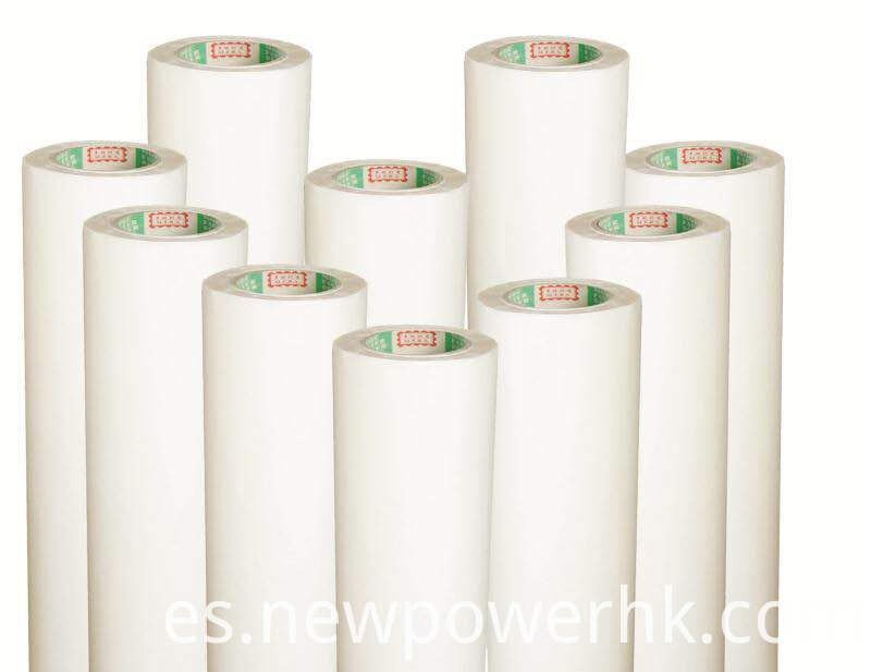 Transparentspecial hot melt adhesive film for logo