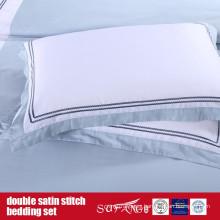 Double Satin Stitch Bedding Set Classical Design