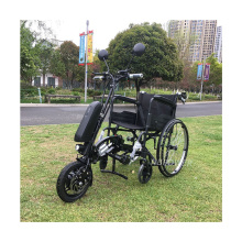 NBpower Black color lightweight power electric wheelchair drive kit folding e-wheelchair with wheels for disabled