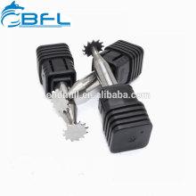 BFL-Molino de extremo de ranura en T de carburo de tungsteno / Herramienta de fresado de ranura en T de carburo sólido / Cortador de ranura de madera