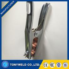 TIG brass welding machine American M500A earth clamp