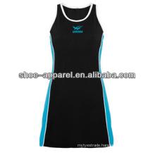 2014women lawn polyester&spandex tennis table dress