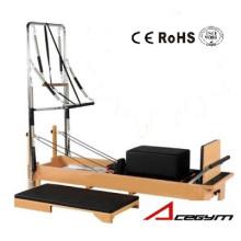 Pilates Equipement Pilates demi trapèze (avec boîte et Junmping Board et Five Springs inclus)