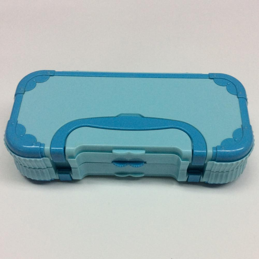 Plastic Children Portable Pencil Box