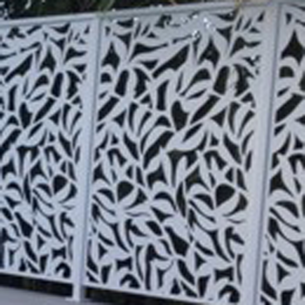 Pagar Laser Cutting Metal Decorative