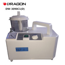 DW-3090C1 (D) CE Aprovado Aparelho de Sucção Elétrica Portátil de Emergência Médica