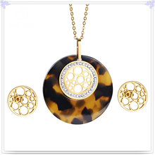 Accesorios de moda joyería de moda joyería de acero inoxidable establece (js0251)