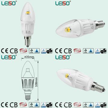 Белый цвет кузова светодиодные свечи с 330 градусов угол луча