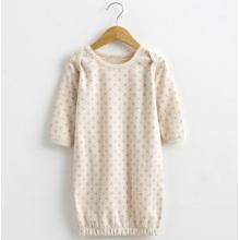Algodón orgánico Lovely Baby DOT Pijamas Impreso