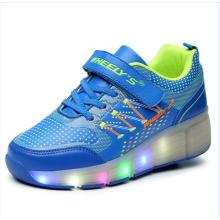Exportación Moda Mujeres Skate Ruedas Roller Shoes Zapatillas para niños, Adultos Roller Sport Shoes Skate para Hombre Mujer