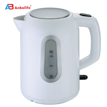 1.7L Handypouring Lightweight 2000W Cordless Hot Water Boiler BPA-Free Tea Pot with Auto Shut-Off Electric Tea Kettle
