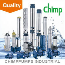 CHIMP 4SP series high lift stainless steel impeller submersible water pump