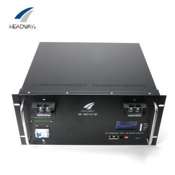Headway 48V 100Ah Pacco batterie agli ioni di litio lifepo4