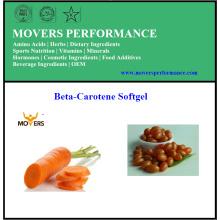 Heißer Verkauf von hochwertigem Beta-Carotin Softgel