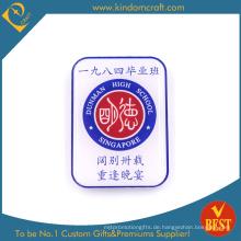 Persönlicher Entwurf bedruckter Edelstahl-Andenkenpin-Ausweis aus China