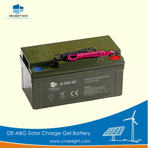 DELIGHT Optima Solar Batterie pour gel de rue