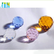 Most popular superior quality machine cut glass crystal ball for chandelier