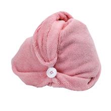 Лучшие продажи микрофибра полотенце для волос тюрбан, Терри микрофибры волос полотенца