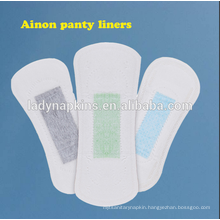 Wholesale China panty liner anion disposable with blue core for women