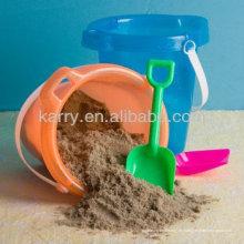 TARGET Audited Supplier, arena coloreada para niños