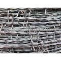 Precio de alambre de púas galvanizado en caliente por rollo