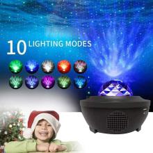 Proyector de luz de noche estrellada con control remoto