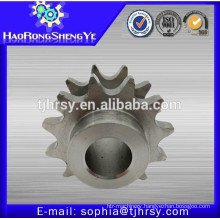 Stainless steel large pitch roller chain sprockets