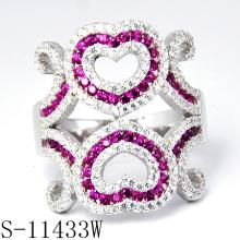 2015 новые ювелирные изделия украшенные камнями красочные циркон кольцо (с-11433W)