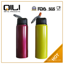 sports drink bottle with straws