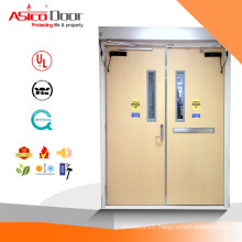 Hospital Room Design Fire Rated Vision Panel Room Door With UL LIsted