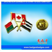 Flag Badge Combinational Contry Flag Friendship Badge