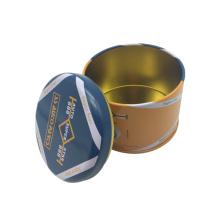 Airtight Lid Round Tea Tin Can Wholesale Tin Box