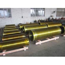 Cast iron type wire rope drum