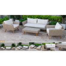 CANARY COLLECTION - El más nuevo sistema superventas del sofá de la rota del PE fijado para los muebles de jardín al aire libre