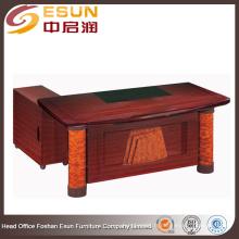 2016 Foshan Factory vente chaude populaire bureau de mobilier exécutif L forme bureau table design