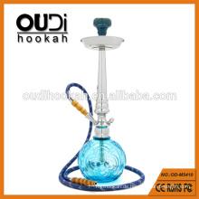 Großhandel hochwertige klare blaue Glasvase Huka mya