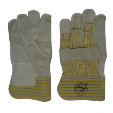 Natural Color Cow Grain Leather Driver Work Glove