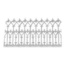 China supplier High quality sand cast decoration Aluminium Fence Non-standard Custom lamp shade bracket
