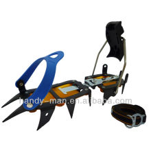 CRM-12-C 12 Points Steel Semi-Step Ice traction Crampons