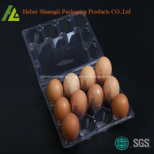 transparent plastic egg crate